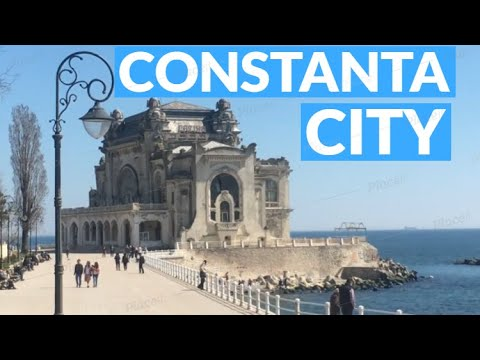 Constanta Romania 2018 Black Sea Beach Vacation City Tour Travel Place