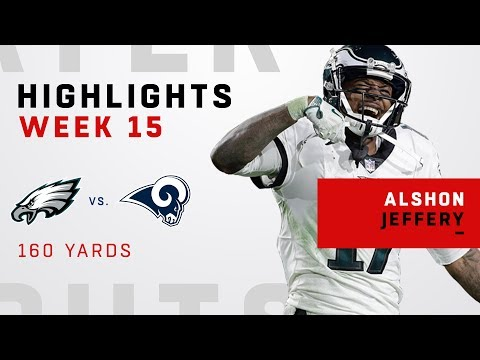 Alshon Jeffery's Huge Game w/ 160 Yards vs. Rams