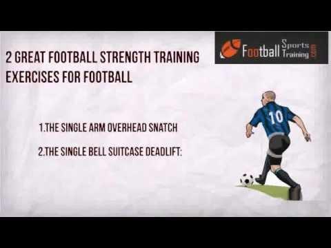 strength training program for football players  youtube