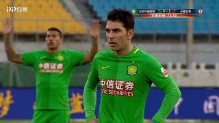 Jonathan Soriano Goal   Beijing Guoan 1X1 Changchun YaTai   CSL 04/11/2017