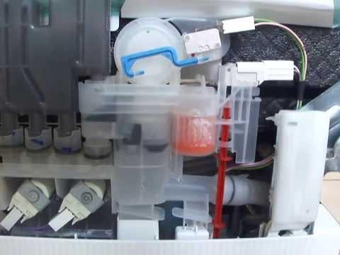 Lave vaisselle bosch remplissage insuffisant youtube for Chambre de compression et pressostat
