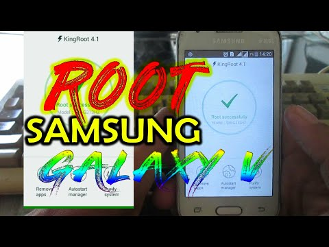 How to root Android Samsung Galaxy V