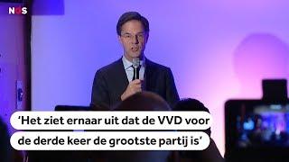 De speech van Mark Rutte na verkiezingsuitslag