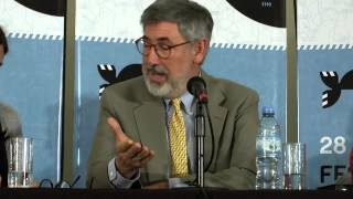 John Landis parla del cinema italiano al Mar del Plata International Film Festival 2013