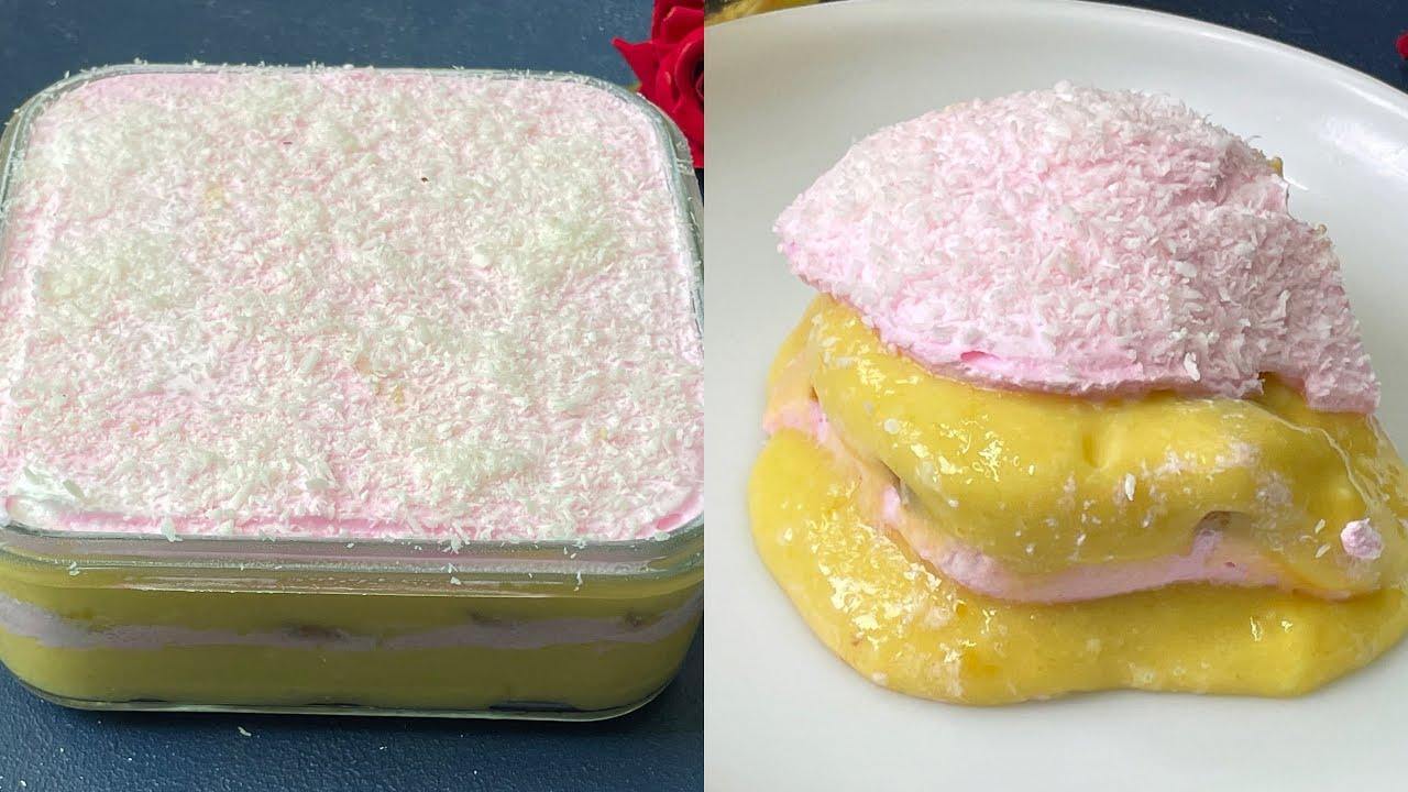 20 Minutes Dessert, घर के कुछ सामान से बनाएँ टेस्टी मीठा , Instant Tasty Desssert Recipe