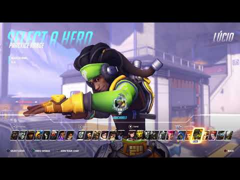 New Lucio Equalizer Skin Demo!Gold weapon at 3:49!!