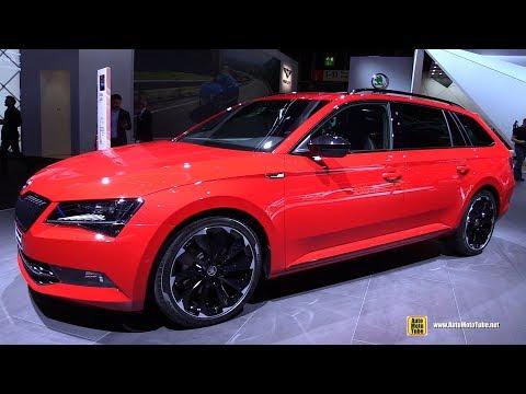 2018 Skoda Superb Combi Sportline - Exterior and Interior Walkaround - 2017 Frankfurt Auto Show