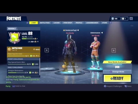 #999 Ranked Twin Brothers Play Fortnite!