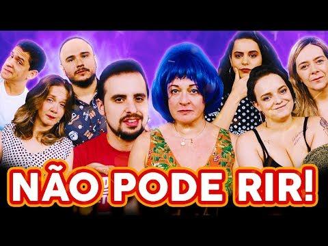 NÃO PODE RIR - com DUBLADORAS Tânia Gaidarji Flora Paulita Angélica Santos e Yasmin Yassine