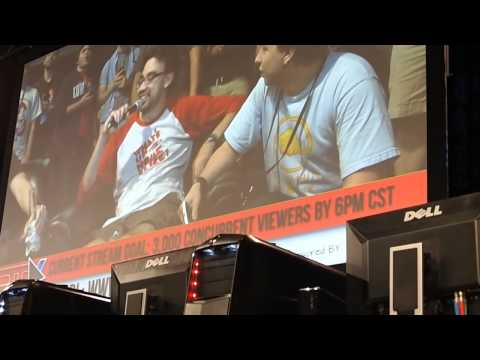 RTX 2012 - Gus and Joel livestream event