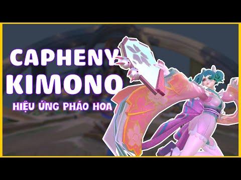 Capheny Kimono   Hiệu Ứng Pháo Hoa Cực Đẹp - Garena Liên Quân Mobile