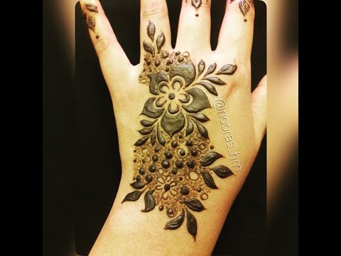 Step-by-step Emirates Henna Design