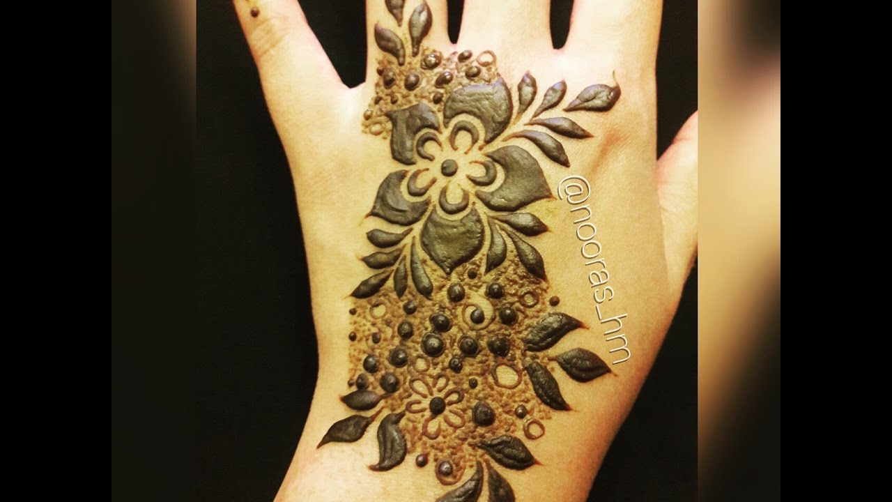 Mehndi Makeup Step By Step : Step by emirates henna design youtube