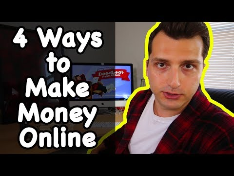 4 Ways to Make Money Online ($500 Cash Contest Giveaway!)