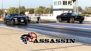 HELLCAT ASSASSIN! DRIVE 6 HRS TO TRACK ✔ TAKE OUT HELLCATS ✔ SET RECORD ✔ DRIVE HOME ✔