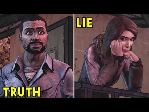 Lee Flirts With Carley & Tells the Group About His Past -All Choices- The Walking Dead
