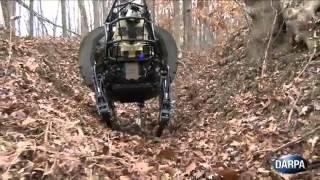 Estados Unidos creó una mula robot que llegará a cargar hasta 180 kilos