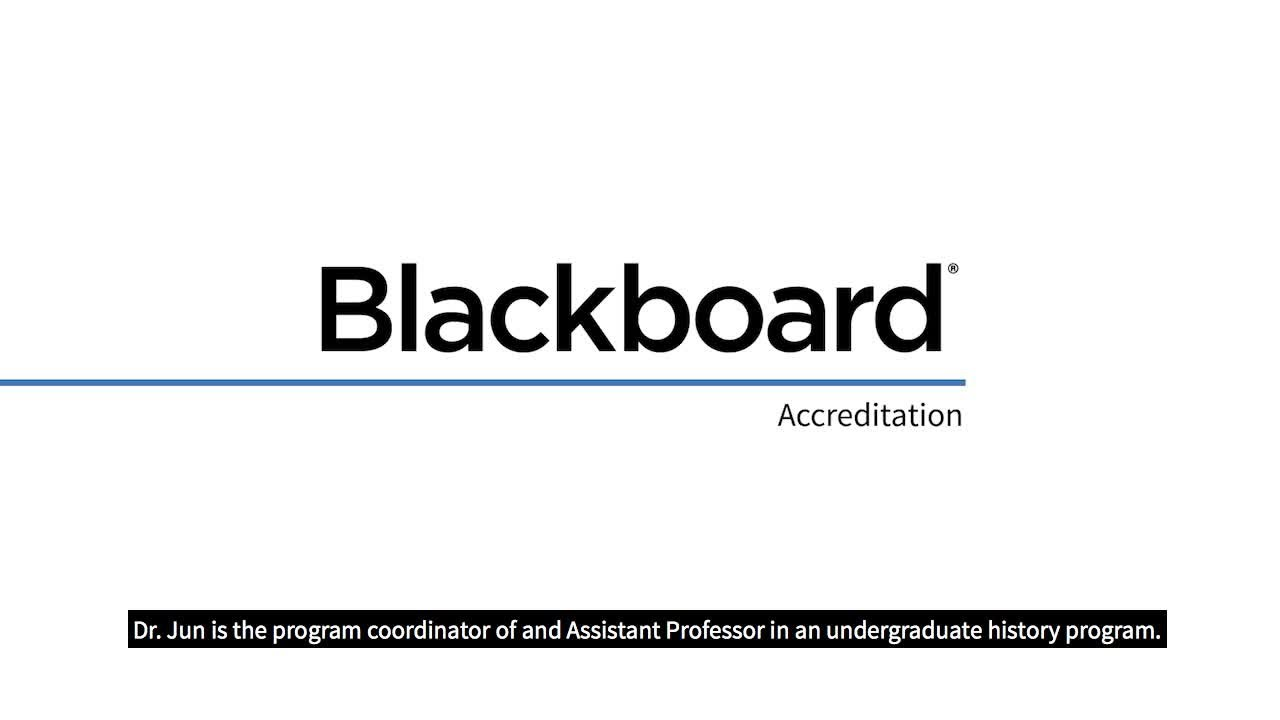 Assessment & Accreditation | Blackboard