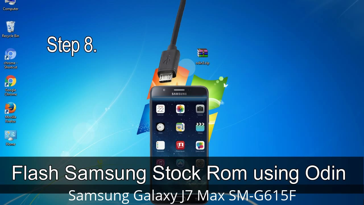 How to Samsung Galaxy J7 Max SM-G615F Firmware Update (Fix ROM)