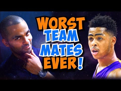 14 HORRIBLE NBA Teammates that CROSSED the Line!