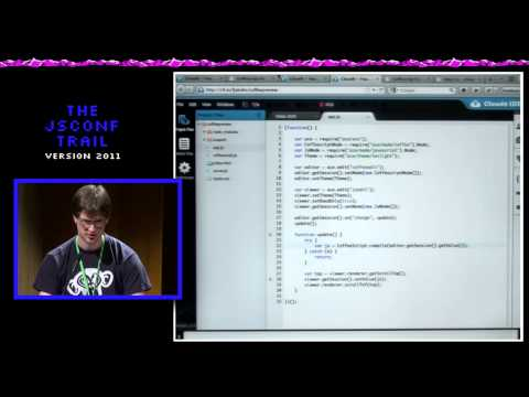 Fabian Jakobs: Bespin, Skywriter, Ace - The Past, Present and Future of online Code Editing