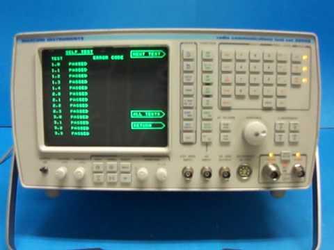 Marconi 2955B Marconi Radio Communications Test Set Self Test