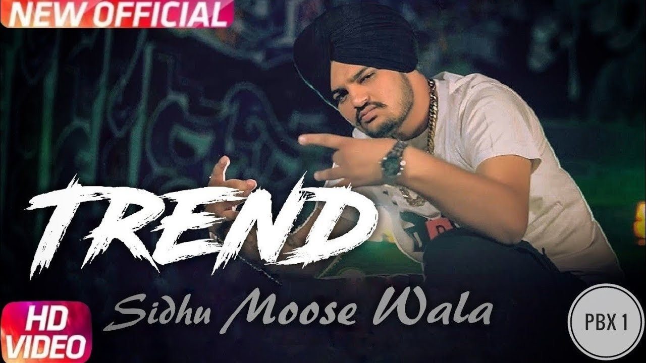 Trend (Official song) Sidhu Moosewala song- White Hill music | lyric video by Vishal Pannu|