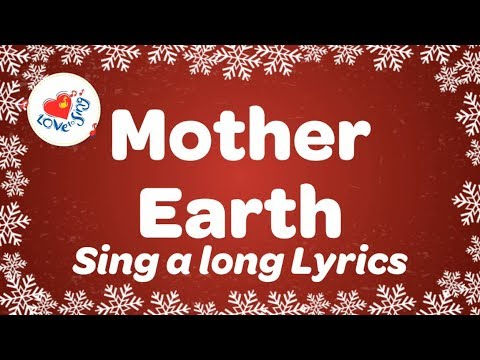 Mother Earth with sing along lyrics | Kids Earth & Environment Song | Children Love to Sing