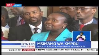 KMPDU umeitaka serikali ya Kaunti ya Nairobi kuwarejesha kazini wafanyakazi wa hospitali ya Pumwani