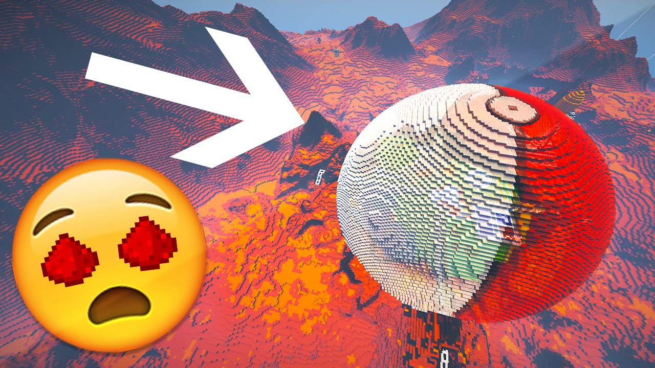 REDSTONE MARS BASE (w/ 60+ Redstone Creations) - Minecraft ...