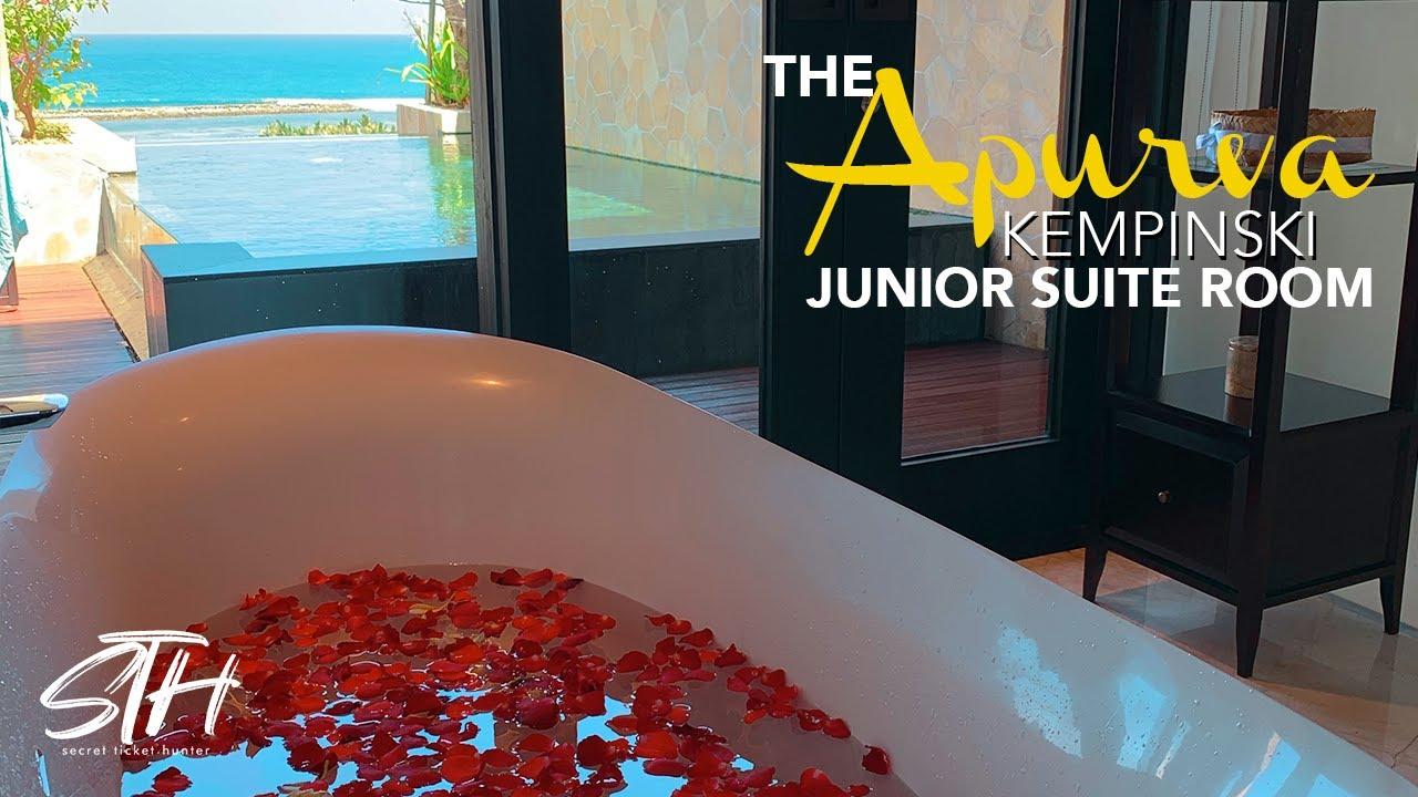 The APURVA KEMPINSKI BALI - Cliff Ocean Junior Suite Pool - STH Staycation Review