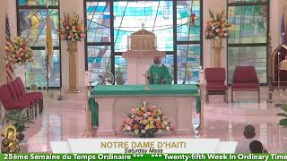 Mass Celebration // Saturday of the Twenty-fifth Week in Ordinary Time 09.25.21