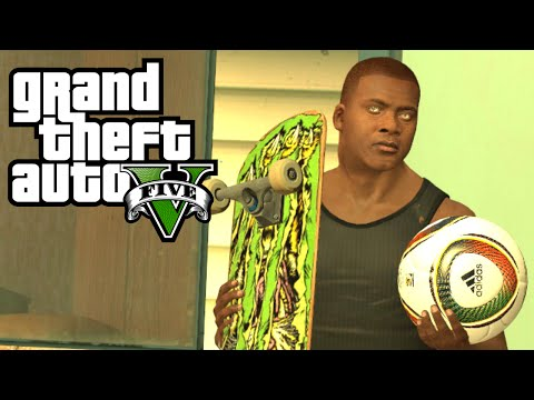 GTA 5 - More Activities: Skateboarding, Basketball, Snowboarding/Skiing, or Paintball?