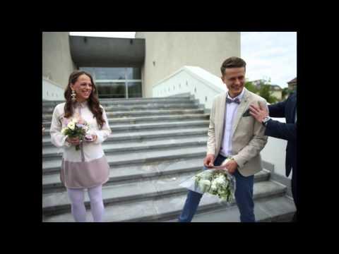 Žvaigždžių vestuvės. Ineta Puzaraitė Vilniuje ištekėjo už Ąžuolo Žvagulio