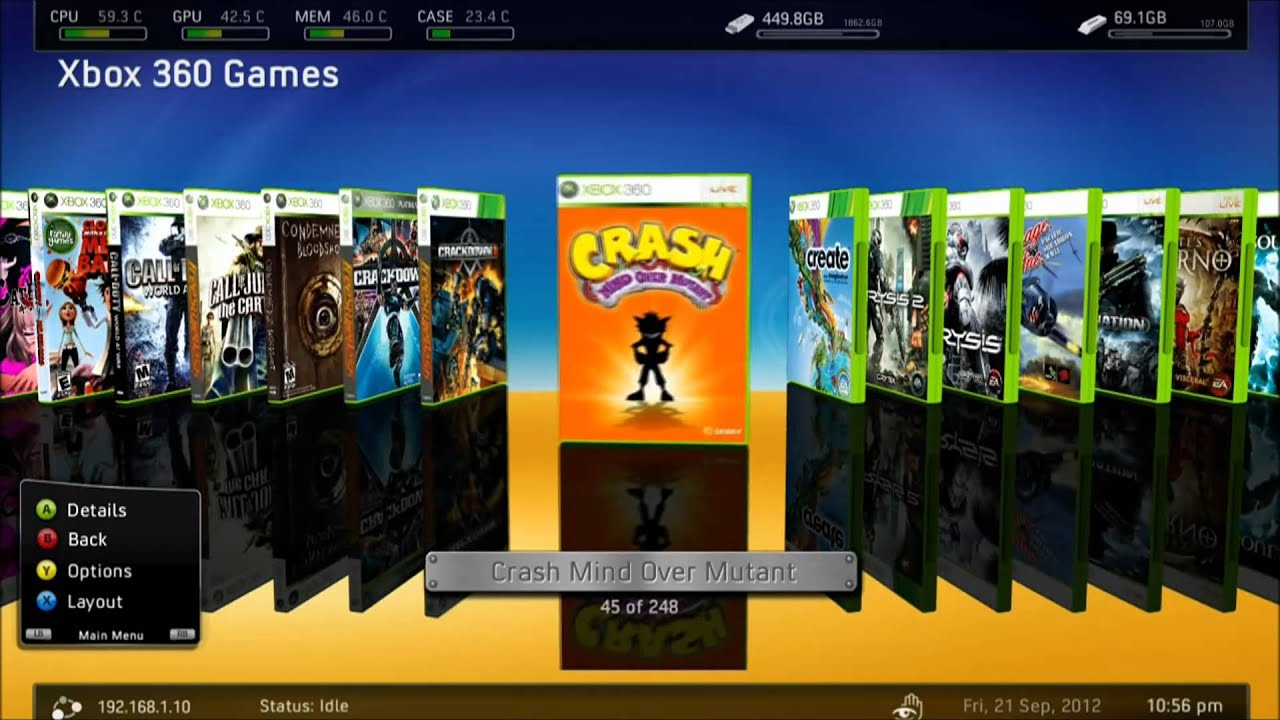 How to add a game to your XBox 360