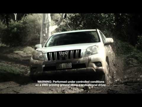 Rick Bates - Corporate Driving - Media Driving - Toyota Prado Commercial