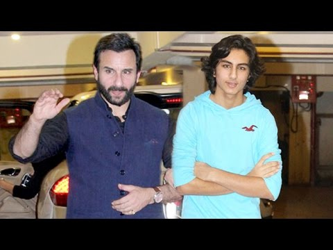 Saif Ali Khan's Son Ibrahim Looks Exactly Like Him - YouTube