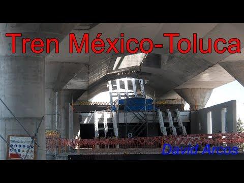 Tren México-Toluca - Construcción - Noviembre 2017 - 4K-UHD