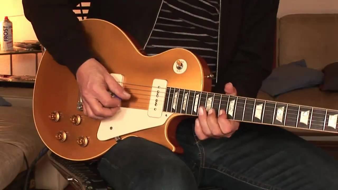 2009 Gibson Les Paul 1956 Reissue Goldtop P 90 Historic Collection Part 1