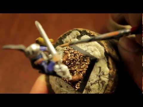 How to Paint Middenheim Swordman Part 1 of 2