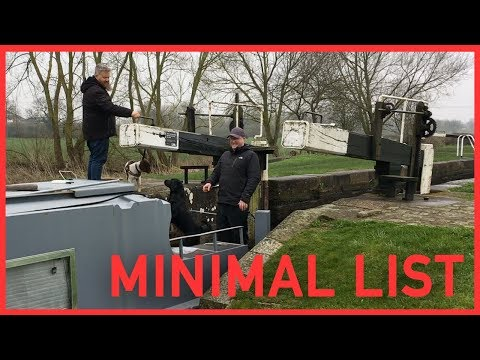 051- 'Volunteer Lock Keeping' on the Trent and Mersey Canal