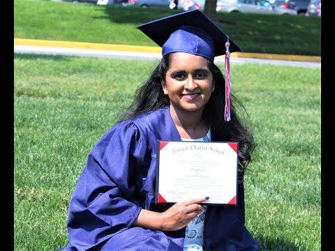 Nikki Graduation - Newark Charter School 2019