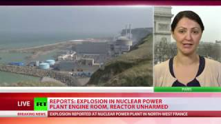 Explosion at Flamanville nuclear power plant in France, several injured