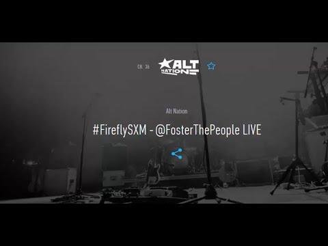 Foster The People @ Firefly Festival 2015 full | (Bootleg) SiriusXM AltNation