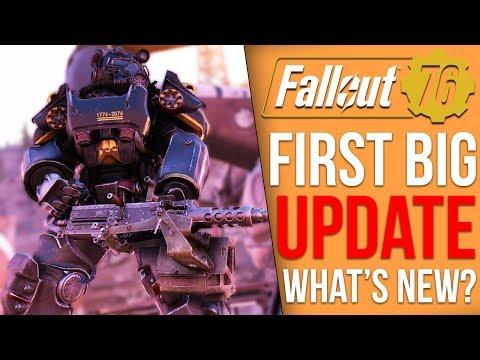 Fallout 76 Got a 45GB Update