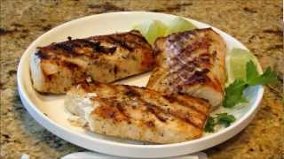 Light And Easy Grilled Ono Fish Fillets