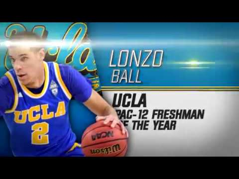 Wooden Legacy - Lonzo Ball Pac-12 Freshman of the Year
