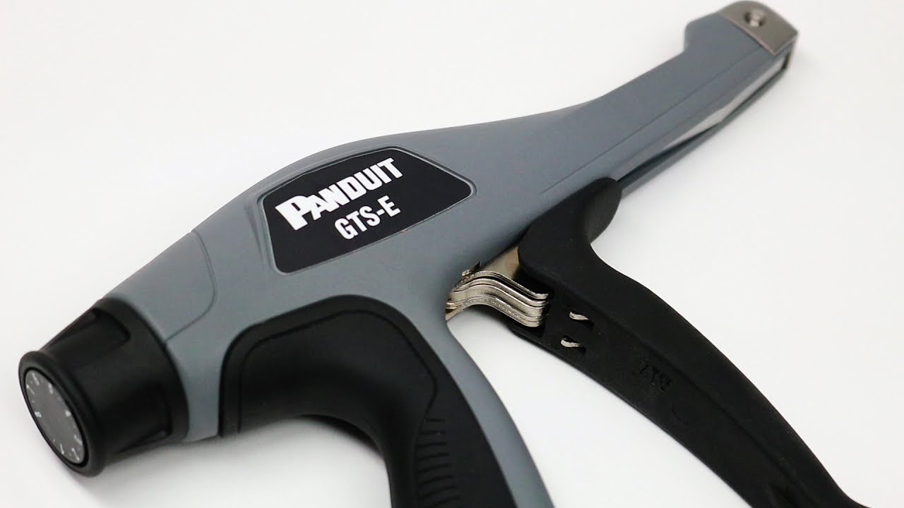 Panduit S Gts E Series Cable Tie Installation Tool Youtube