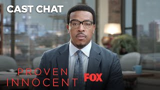 10 Words With Russell Hornsby | Season 1 | PROVEN INNOCENT thumbnail