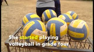 Nepal Volleyball girl